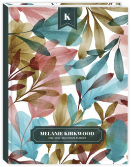 Autumn Foliage Real Estate Sewn Planner