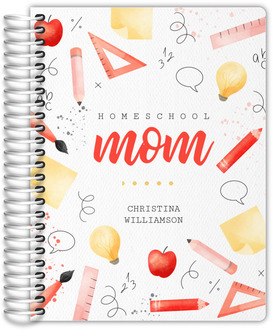 Watercolor Homeschool Mom Planner