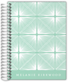 Mint Deco Pattern Journal