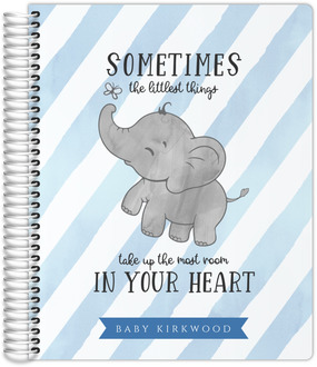 Elephant Stripes Mom-to-Be Planner