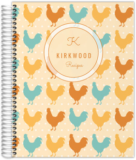 Rustic Chicken Custom Day Journal