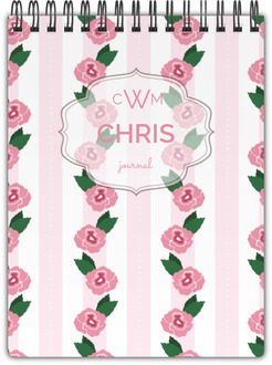 Southern Rose Notebook