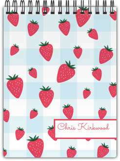 Strawberry Jam Notebook