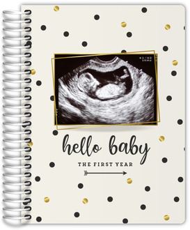 Polka Dot First Year Pregnancy Planner