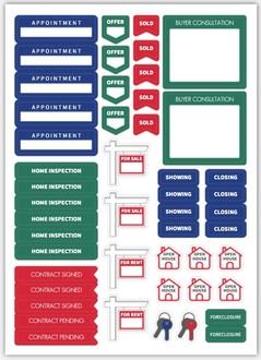 Real Estate Custom Planner Sticker