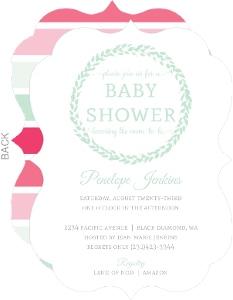 Girls baby shower invitations girl baby shower invitations filmwisefo Choice Image