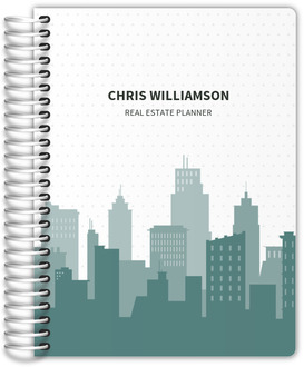 City Skyline Buildings Real Estate Planner
