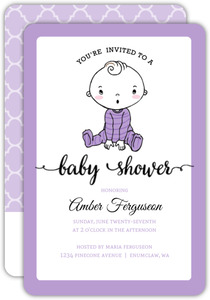 Cutie Patootie Baby Shower Invitation