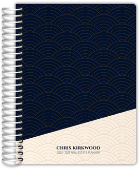 Scallop Pattern Real Estate Planner