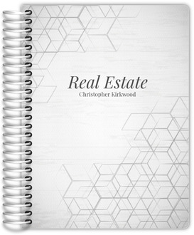 Hexagon Pattern Corner Real Estate Planner
