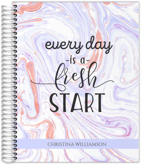 Everyday Fresh Start Custom Planner