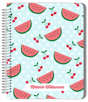 Watermelon and Cherry Pattern Planner