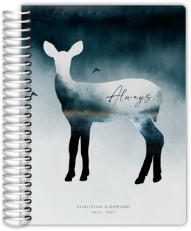 Always Doe Silhouette Daily Planner