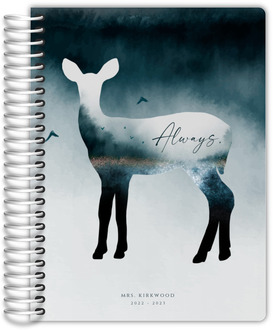 Always Doe Silhouette Teacher Planner