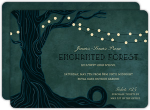 50fd0e833d1 Enchanted Forest Prom Invitation