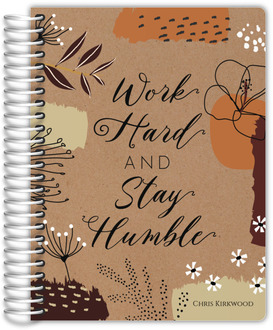 Work Hard Quote Daily Planner