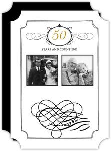 50 anniversary invitations