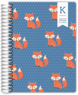Cute Fox Student Planner