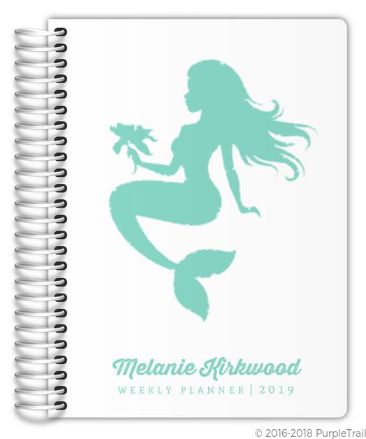 Tropical Mermaid Custom Planner
