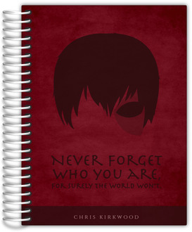 Never Forget Quote Daily Planner