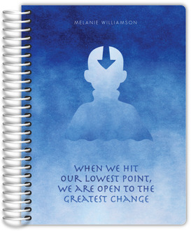 Greatest Change Blue Watercolor Daily Planner