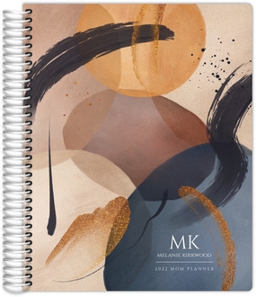 Watercolor Ink Art Mom Planner