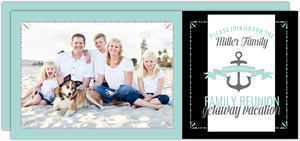 Getaway Vacation Family Reunion Postcard Invitation