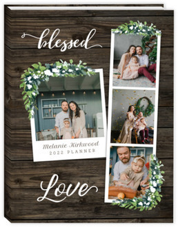 Woodgrain Photo Mom Planner