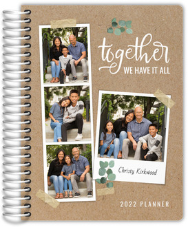 Taped Photos Daily Planner
