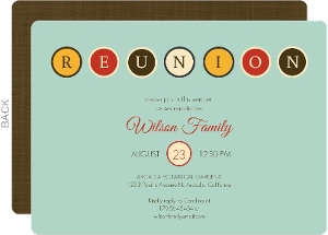 Delightful PurpleTrail Ideas Family Reunion Invitation Cards