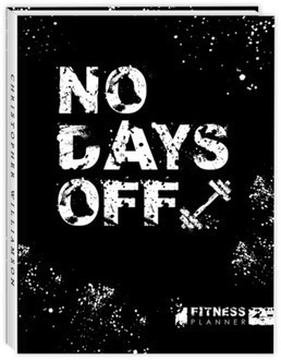 No Days Off Fitness Sewn Planner
