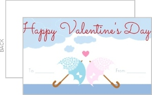 Pastel Valentine S Day Card