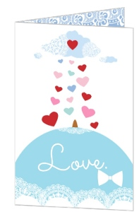 Pastel Valentine S Day Card - 4250