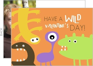 Wild Monster Valentine S Day Card