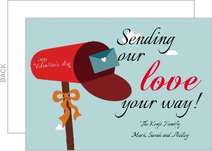 Sending Love Valentine S Day Card