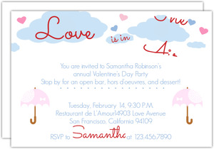 Pastel Valentine S Day Invitation