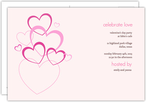 Love Bubbles Valentine S Day Invitation