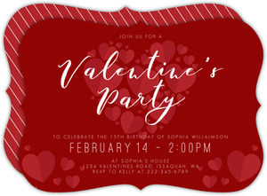 Modern Arrow Valentine S Day Party Invitation