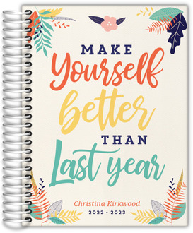 Make Yourself Better Daily Planner