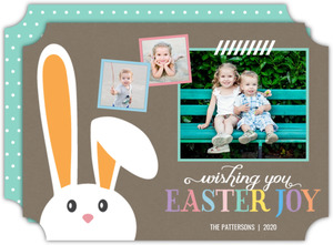 Whimsical Bunny Easter Card