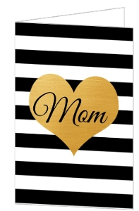 Modern Chic Mothers Day Card