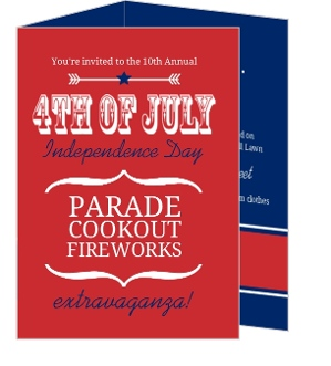 fourth of july party invitation 4th of july invitations
