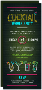 Cocktail Summer Party Invitation