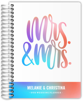 Colorful Gradients Wedding Planner