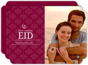 Simple Blessed Eid Card