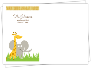 Safari Animals Envelope