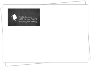 Graduation Announcement Icon Envelope