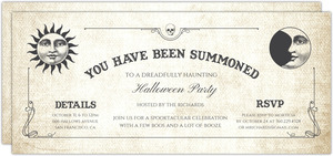 Haunted Ouija Board Halloween Party Invitation