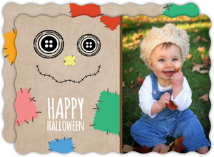 Scarecrow Halloween Greeting Card
