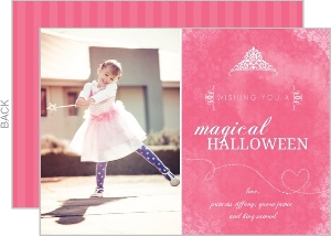 Fairy Princess Magical  set  Halloween Card